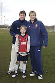Gloucester Rugby Camp at Oxtalls School. 14-2-06. Group and Pics with Players