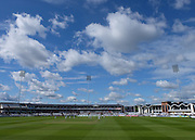 General view of  Emirates Durham ICG Ground during the LV County Championship Div 1 match between Durham County Cricket Club and Hampshire County Cricket Club at the Emirates Durham ICG Ground, Chester-le-Street, United Kingdom on 1 September 2015. Photo by George Ledger.