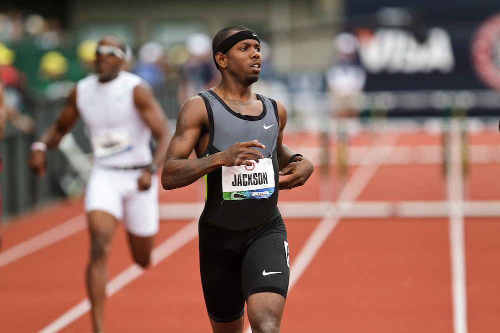 2012 USA Track & Field Olympic Trials: mens 400 hurdles, Bershawn Jackson