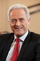 17 DEC 2010, BERLIN/GERMANY:<br /> Peter Ramsauer, CSU, Bundesverkehrsminister, waehrend einem Interview, in seinem Buero, Bundesminsiterium fuer Verkehr, Bau und Stadtentwicklung<br /> IMAGE: 20101217-01-034<br /> KEYWORDS: Büro