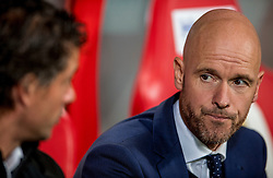 26-10-2016 NED: KNVB beker FC Utrecht, - Fc Groningen, Utrecht<br /> FC Utrecht heeft zich geplaatst voor de achtste finales van de KNVB-beker. De verliezend finalist van vorig seizoen rekende in stadion Galgenwaard af met FC Groningen, bekerwinnaar in 2015 / Coach Erik ten Hag