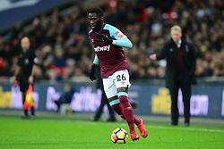Arthur Masuaku of West Ham United - Mandatory by-line: Alex James/JMP - 04/01/2018 - FOOTBALL - Wembley Stadium - London, England - Tottenham Hotspur v West Ham United - Premier League