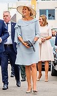 10-9-2018 VEGHEL - Queen Maxima visits the CHV Noordkade and opens the new Theater De Blauwe Kei at the industrial heritage complex CHV Noordkade. COPYRIGHT
