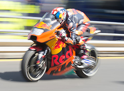 October 20, 2017 - Melbourne, Victoria, Australia - British rider Bradley Smith (#38) of Red Bull KTM Factory Racing in pit lane during the first free practice session of the MotoGP class at the 2017 Australian MotoGP at Phillip Island, Australia. (Credit Image: © Theo Karanikos via ZUMA Wire)