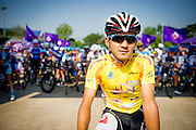 Tour of Thailand 2015/ Stage4/ Mukdahan - Nakhon<br /> Phanom/ / Bridgestone Anchor/ Uchima Kohei/