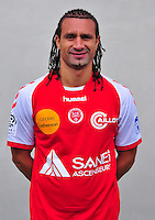 Mickael TACALFRED - 03.10.2013 - Photo officielle Reims - Ligue 1<br /> Photo : Philippe Le Brech / Icon Sport