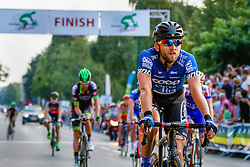 Team Coop-Oster Hus rider finishing the Arnhem - Veenendaal Classic, Veenendaal, Utrecht, The Netherlands, 21 August 2015.<br /> Photo: Thomas van Bracht / PelotonPhotos.com
