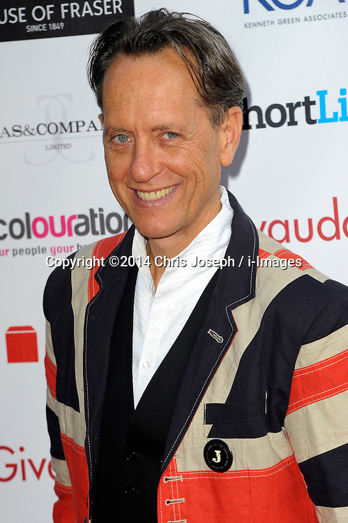 Richard E Grant attends the Fifi awards ceremony, The Brewery, London, United Kingdom. Thursday, 15th May 2014. Picture by Chris Joseph / i-Images