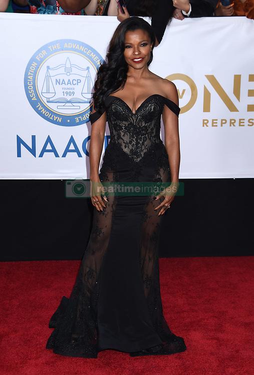 Annie Ilonzeh at the 49th NAACP Image Awards held at the Pasadena Civic Auditorium on January 15, 2018 in Pasadena, CA ©TArroyo/AFF-USA.com. 15 Jan 2018 Pictured: Keesha Sharp. Photo credit: MEGA TheMegaAgency.com +1 888 505 6342