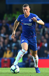 October 20, 2018 - London, England, United Kingdom - London, England - October 20: 2018.Chelsea's Ross Barkley.during Premier League between Chelsea and Manchester United at Stamford Bridge stadium , London, England on 20 Oct 2018..Credit Action Foto Sport  (Credit Image: © Action Foto Sport/NurPhoto via ZUMA Press)