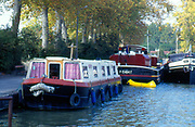 France, Languedoc and Roussillon.  Castelnaudary, Canal du Midi