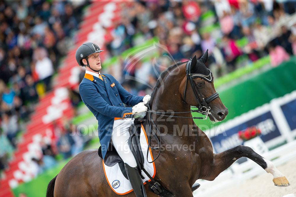 Diederik van Silfhout, (NED),  Arlando TN N.O.P. - Grand Prix Special Dressage - Alltech FEI World Equestrian Games&trade; 2014 - Normandy, France.<br /> &copy; Hippo Foto Team - Leanjo de Koster<br /> 25/06/14