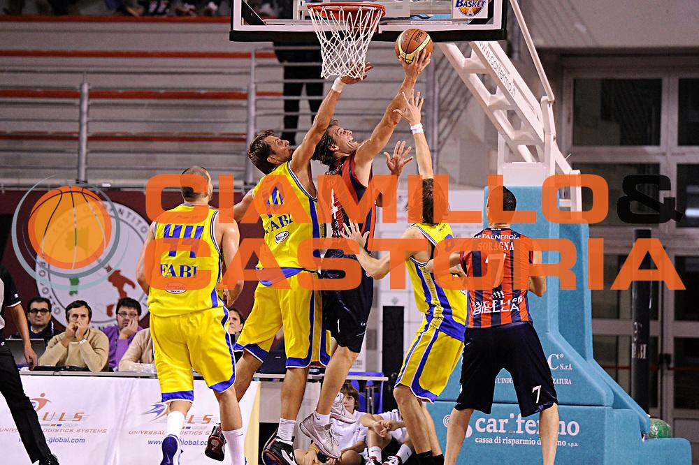 DESCRIZIONE : Ancona Lega A 2011-12 Fabi Shoes Montegranaro Angelico Biella<br /> GIOCATORE : Goran Jurak<br /> CATEGORIA : tiro penetrazione<br /> SQUADRA : Angelico Biella<br /> EVENTO : Campionato Lega A 2011-2012<br /> GARA : Fabi Shoes Montegranaro Angelico Biella<br /> DATA : 13/11/2011<br /> SPORT : Pallacanestro<br /> AUTORE : Agenzia Ciamillo-Castoria/C.De Massis<br /> Galleria : Lega Basket A 2011-2012<br /> Fotonotizia : Ancona Lega A 2011-12 Fabi Shoes Montegranaro Angelico Biella<br /> Predefinita :