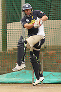 Bradley Hodge of the Victorian Bushrangers pulls a delivery during the Bushrangers training session held at St Georges Park in Port Elizabeth on the 17 September 2010..Photo by: Shaun Roy/SPORTZPICS/CLT20