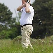 NLD/Zandvoort/20120521 - Donmasters 2012 golftoernooi, Soren Lerby aan het golfen