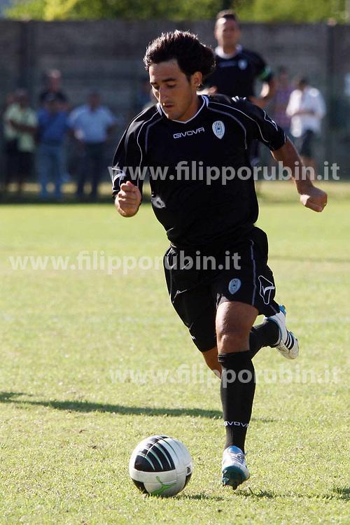 AGNELLI CRISTIAN ANTONIO CALCIATORE SPAL 2011-2012