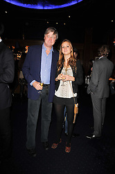 The MARQUESS OF WORCESTER and his daughter LADY BELLA SOMERSET at the Tatler Little Black Book Party held at Tramp, 40 Jermyn Street, London on 3rd November 2010.