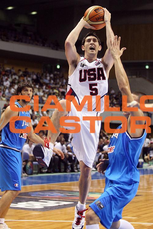 DESCRIZIONE : Sapporo Giappone Japan Men World Championship 2006 Campionati Mondiali Usa-Italy <br /> GIOCATORE : Hinrich <br /> SQUADRA : Usa Stati Uniti America <br /> EVENTO : Sapporo Giappone Japan Men World Championship 2006 Campionato Mondiale Usa-Italy <br /> GARA : Usa Italy Stati Uniti America Italia <br /> DATA : 23/08/2006 <br /> CATEGORIA : Tiro <br /> SPORT : Pallacanestro <br /> AUTORE : Agenzia Ciamillo-Castoria/G.Ciamillo <br /> Galleria : Japan World Championship 2006<br /> Fotonotizia : Sapporo Giappone Japan Men World Championship 2006 Campionati Mondiali Usa-Italy <br /> Predefinita :