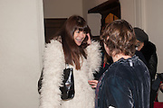 NATASHA PLOWRIGHT, The house of fairly tales exhibition launch. Sutton House. , 2 and 4 homerton high st. london.  E9 6JQ 12 December 2012.