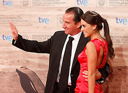 24.09.2011, Sebastian Donostia, ESP, 59. San Sebsatian Filmfestival, Zinemaldia, im Bild Actor Plutarco Haza (l) with his wife during the 59th San Sebastian Donostia International Film Festival - Zinemaldia.September 24,2011.EXPA Pictures © 2011, PhotoCredit: EXPA/ Alterphoto/ Acero +++++ ATTENTION - OUT OF SPAIN/(ESP) +++++