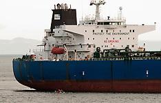 Whangarei-Tanker HS Alcina involved in oil spill, Marsden Point