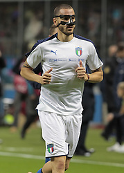 November 13, 2017 - Milan, Italy - Leonardo Bonucci during the playoff match for qualifying for the Football World Cup 2018  between Italia v Svezia, in Milan, on November 13, 2017. (Credit Image: © Loris Roselli/NurPhoto via ZUMA Press)