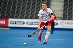 England's Liam Sanford. England v China - Hockey World League Semi Final, Lee Valley Hockey and Tennis Centre, London, United Kingdom on 15 June 2017. Photo: Simon Parker