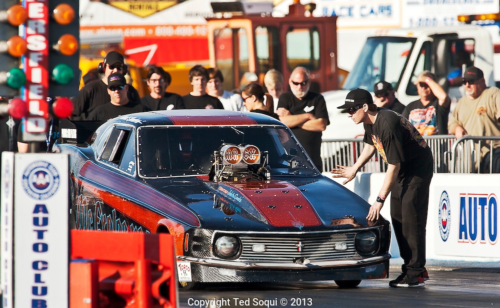 Mr. Explosive..The 2013 March Meet at the Auto Club Famoso Raceway in McFarland, CA.