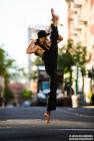 Dance As Art The New York City Photography Project Lower East Side Series with Alvin Ailey dancer Constance Stamatiou
