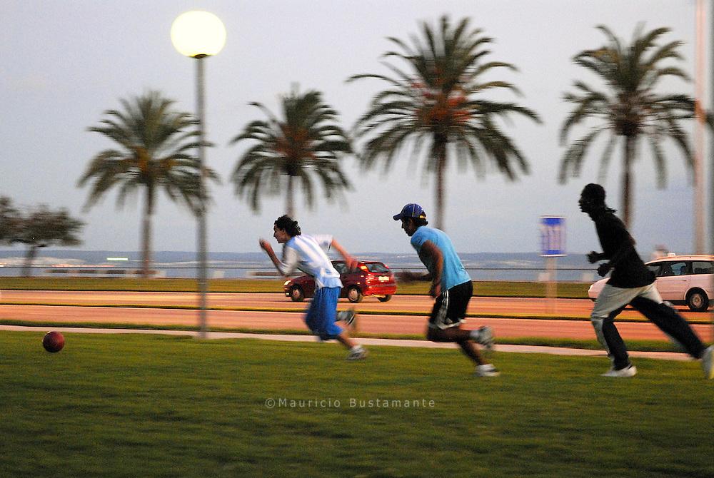 Futbol calle en Mallorca