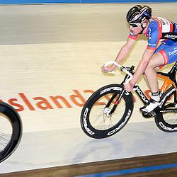 13-12-2015: Wielrennen: NK baanwielrennen: Sloten<br /> AMSTERDAM (NED) baanwielrennen   <br /> Op het velodrome van Sloten streden de baanwielrenners om de titel op de 50 kilometer