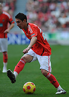 20090117: LISBON, PORTUGAL - SL Benfica vs Belenenses: Portuguese League Cup 2008/2009. In picture: Di Maria (Benfica). PHOTO: Alvaro Isidoro/CITYFILES