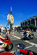 Image of a Fisherman's Wharf in San Francisco, California, America west coast