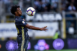 September 1, 2018 - Parma, Italy - Juan Cuadrado of Juventus during Serie A match between  Parma v Juventus in Parma, Italy, on September 1, 2018. (Credit Image: © Giuseppe Maffia/NurPhoto/ZUMA Press)