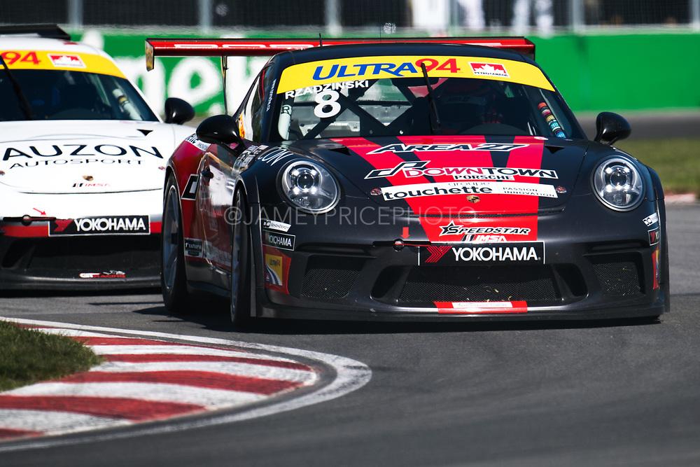 Stefan Rzadzinski. <br /> <br /> Porsche GT3 DFC Motorsport/Speedstar Motorsport sponsored by Downtown Porsche.