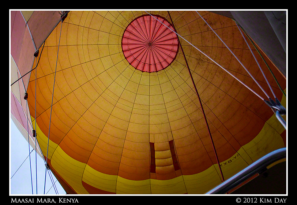 Inside The Balloon.Maasai Mara, Kenya.September 2012