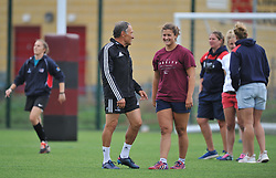 Reknowned performance coach Dave Alred at Bristol Ladies Training Camp - Mandatory by-line: Paul Knight/JMP - 29/07/2017 - RUGBY - Bristol Ladies Rugby pre-season training