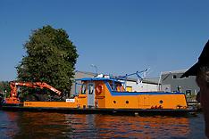 dredging vessels, boats, baggerschepen