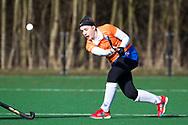 BLOEMENDAAL - Bodine Boelaars (Bldaal)   hoofdklasse competitie dames, Bloemendaal-Nijmegen (1-1) COPYRIGHT KOEN SUYK