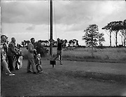 20/07/1962<br /> 07/20/1962<br /> 20 July 1962<br /> Woodbrook Irish Hospitals' Golf Tournament at Woodbrook Golf Course, Dublin. Kel Nagle (Australia) drives off the 2nd Tee at Woodbrook this morning.