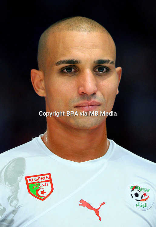 Football Fifa Brazil 2014 World Cup / <br /> Algeria National Team - <br /> Rafik Zoheir Djebbour of Algeria