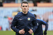 Blackburn Rovers defender Darragh Lenihan (26)  during the Sky Bet Championship match between Burnley and Blackburn Rovers at Turf Moor, Burnley, England on 5 March 2016. Photo by Simon Davies.