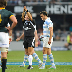 DURBAN, SOUTH AFRICA, Saturday 8th  August:  during the South Africa vs Argentina Rugby Championship Match at Growthpoint Kings Park. (Photo by Argentina Rugby )