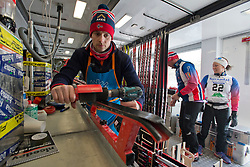 Wax Room, NOR, 2015 IPC Nordic and Biathlon World Cup Finals, Surnadal, Norway