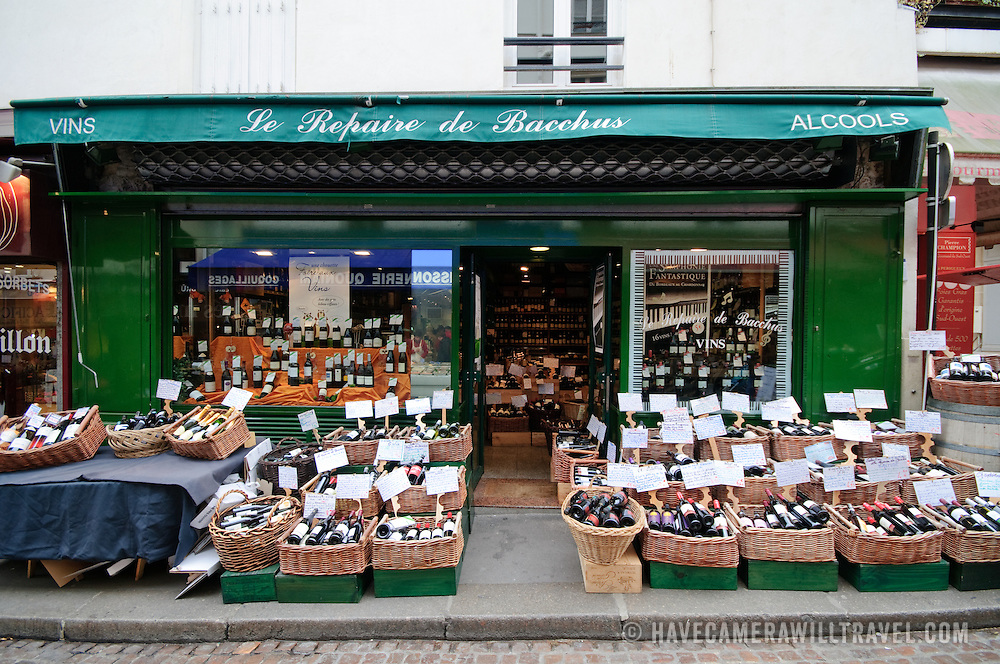 Fresh produce market on Mouffetard.