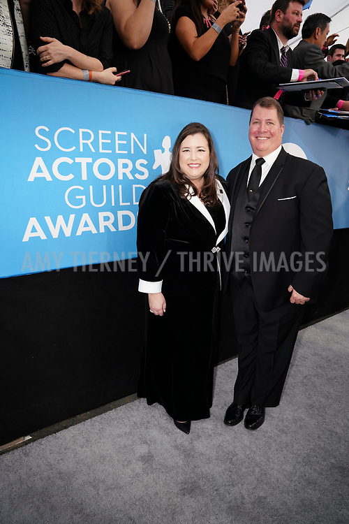 Rebecca Damon, SAG-AFTRA Executive Vice President and husband