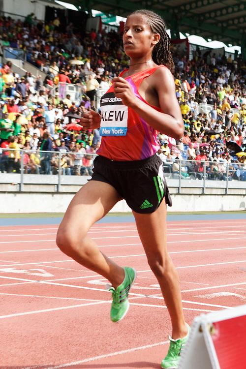 Samsung Diamond League adidas Grand Prix track & field; women's 5000 meters, Genet Yalew, ETH