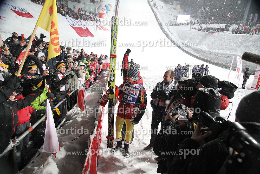 "20.01.2012, Sprungschanze Wielka Krokiew, Zakopane, POL, FIS Ski Sprung Weltcup, Zakopane, im Bild KAMIL STOCH // during FIS Ski Jumping World Cup at the ""Wielka Krokiew Hill"", Zakopane, Poland on 2012/01/20. EXPA Pictures © 2012, PhotoCredit: EXPA/ Newspix/ Jerzy Kleszcz..***** ATTENTION - for AUT, SLO, CRO, SRB, SUI and SWE only *****"