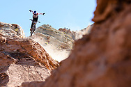 Brandon Semenuk during finals at Red Bull Rampage in Virgin, UT. © Brett Wilhelm