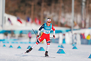 PYEONGCHANG-GUN, SOUTH KOREA - FEBRUARY 15: Flugstad Oestberg Ingvild of Norway during the women's 10k free technique Cross Country competition at Alpensia Cross-Country Centre on February 15, 2018 in Pyeongchang-gun, South Korea. Photo by Nils Petter Nilsson/Ombrello               ***BETALBILD***